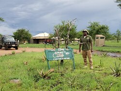 About to head to a Serengeti National Park afternoon game drive while staying at Serengeti Wild Camp