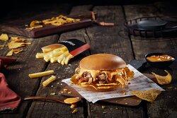 Doritos Doner Krunch Burger