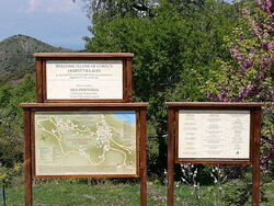 Village Map & Sign [provided by Mark & Saskia]