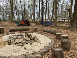 We have overnight camping for scouts and youth groups!