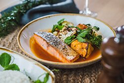 Grilled Huon Salmon Fillet