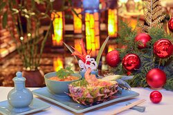 At award-winning Birdcage enjoy an irresistible menu for a unique Christmas and New Year's Eve.