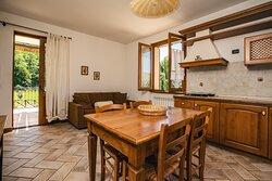 Appartamento COTONEASTER: Cucina e soggiorno