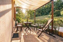 Appartamento OSMANTUS: Ingresso  e patio privato