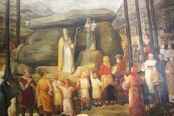 Dipinto Basilica antica