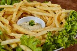 Porção de batata frita (400g)