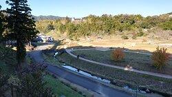 古園石仏から見た臼杵石仏公園