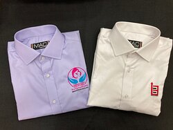 We also do office wear for Companies with their logos and also do staff shirts for NGOs etc and offer them some free as our contribution