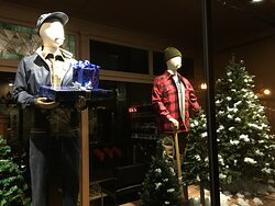 Window Displays in the new location.