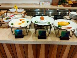 Buffet sáng nhà hàng