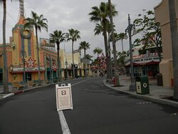Street to Tower of Terror