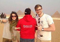Honeymooners in Egypt