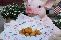 Now serving Wisconsin Cheese Curds!