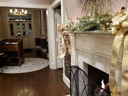 Beautiful decor.  Warm and welcoming.