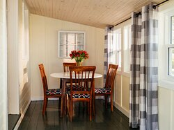 Dining Area of White Door Gamping Cottage