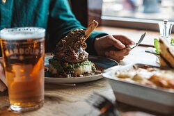 Hearty mains available at The Working Boat