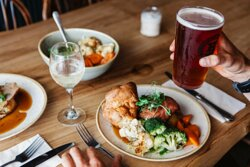 Sunday roasts at The Working Boat