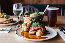 A delicious roast dinner on Sundays
