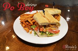 We've been told that our Shrimp Po Boy is the best on the island.