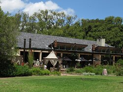 ...the MoYo restaurant at the one end of the gardens