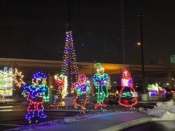 Grand's Winter in Wilmington Drive-Thru Light Show- carolers
