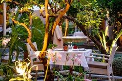 The gardens of Eden Restaurant