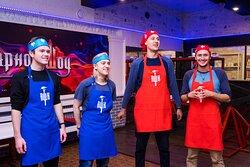 Адское кулинарное шоу, компания по организации и проведению квест-шоу