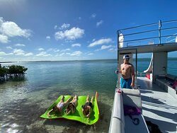 slide boat chillen