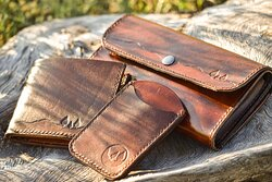 locally handcrafted genuine leather wallets