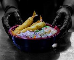 Sea food rice bowl
