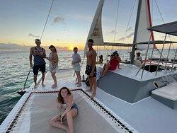 aruba catamaran