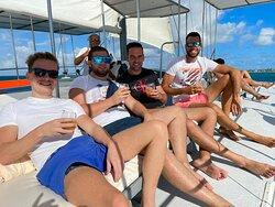 private catamaran aruba