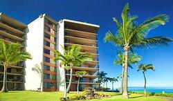 Aston Kaanapali Shores - Building Close up