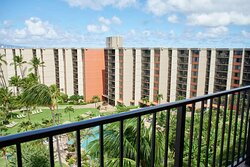 Aston Kaanapali Shores - Balcony View