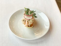 Salmon Toast (NYE special menu)