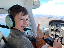 the talent young aviator