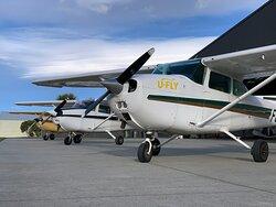 well mainteined Cessna  fleet