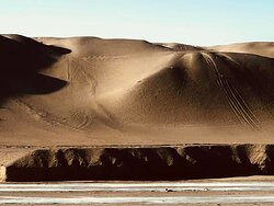 Sand hills close to the Mogao site