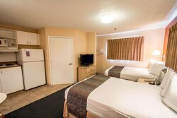 Guest room with double beds