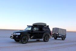 Our SUV and mini camper