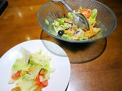 complementary salad