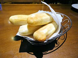 complementary bread sticks