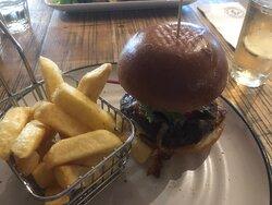 The Haus burger