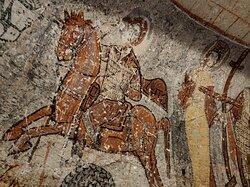 """""""Изображения на сводах каппадокийских храмов фресками — не совсем корректно.Это это не фрески, а асекко — настенная живопись, выполненная по уже высохшей штукатурке."""" (с)"""