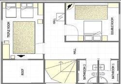 2 bedroom apartment first floor