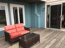 Private Deck Area
