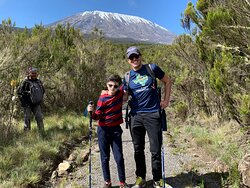 Great trip with Monkey Adventures!!  Guides Musa, Augustino and the whole team did an amazing job getting my 12 year old son, Jacob, to Uruhu Peak!!