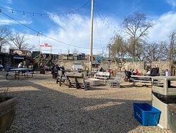 Linvilla Orchards beer garden