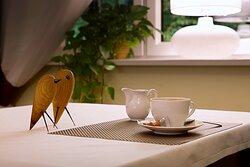 Hotel Walcerek - kawa z mleczkiem