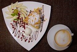 Hotel Walcerek - jabłecznik z lodami
